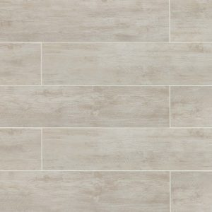 "River Wood 8""x36"" Floor & Wall Tile in Blanc"