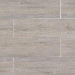 """Titus 8""""x36"""" Floor & Wall Tile in Gray"""