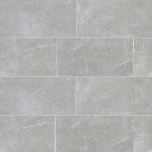 """Troy 12""""x24"""" Floor & Wall Tile in Silver"""