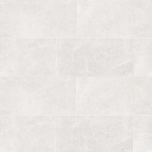 "Troy 12""x24"" Floor & Wall Tile in White"